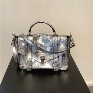 Proenza Schouler PS1 Silver Bag *New